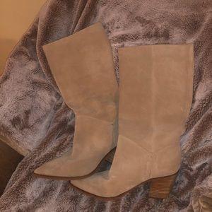 Tan Sam Edelman boots